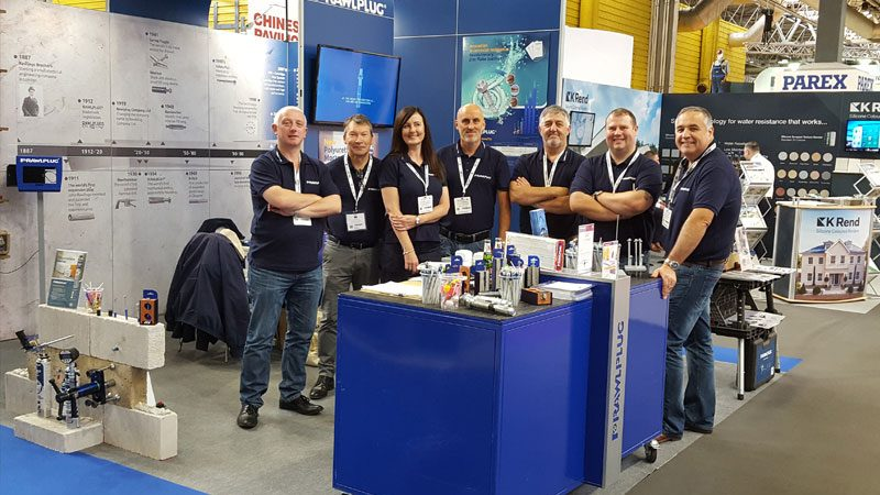Rawlplug cements its place at the 2017 UKCW Build Show