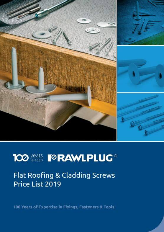 Flat Roofing Cladding Screws Price List